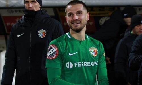 Бывший футболист «Жетысу» забил в финале Кубка Украины