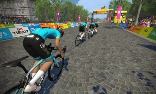 «Astana Pro Team» представила свой состав на третий этап виртуальной «Тур де Франс»