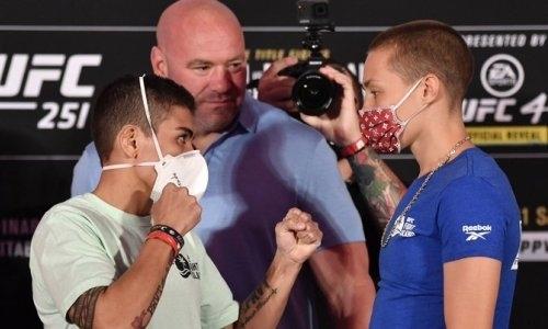Экс-чемпионка UFC взяла реванш у соперницы за поражение нокаутом на турнире с участием Жумагулова