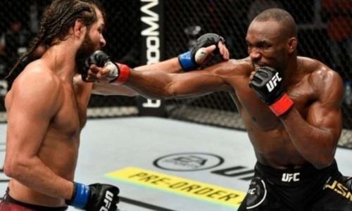 Видео полного боя Камару Усман — Хорхе Масвидаль за титул чемпиона UFC