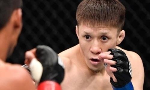 «Не один, а два раза». Чем запомнится дебют Жалгаса Жумагулова в UFC