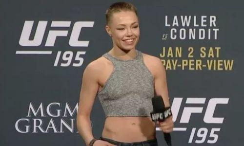 Девушка-боец UFC Намаюнас показала фото большой гематомы под глазом