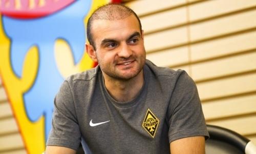 Футболист «Кайрата» рассказал о грандиозных планах на нынешний сезон