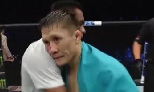 О «горьком» дебюте Жалгаса Жумагулова в UFC рассказали за рубежом
