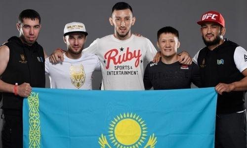 Казахстанец отметился знаменательным событием в UFC