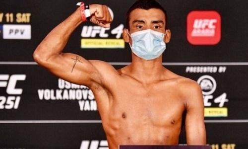 Жалгас Жумагулов указал на несправедливость после дебютного боя в UFC