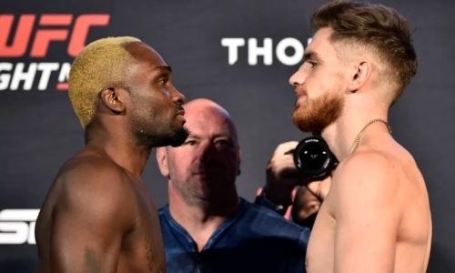Прямая трансляция турнира UFC Fight Night 173 с главным боем Брансон — Шахбазян