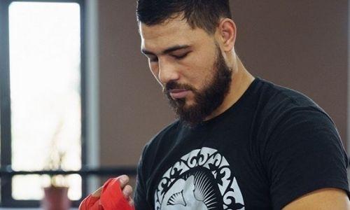 Садриддин Ахмедов продолжает подготовку к следующему бою