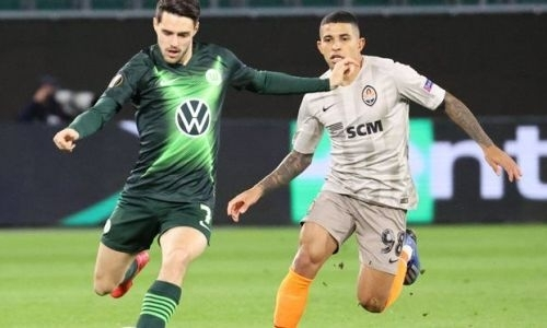 Прямая трансляция матча Лиги Европы «Шахтер» — «Вольфсбург»