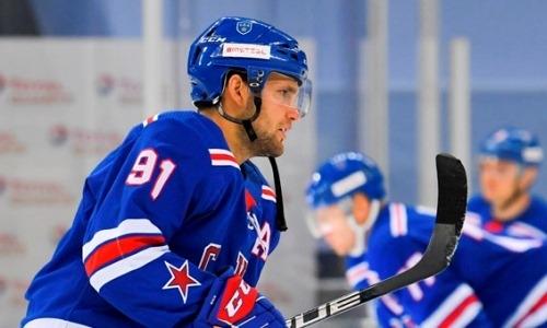 «Мне понравилось». Экс-лидер «Барыса» оценил свой дебют за СКА в матче с командой Скабелки