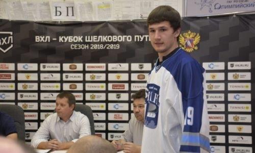 Бывший хоккеист системы «Барыса» разочаровал тренера и покинул российский клуб
