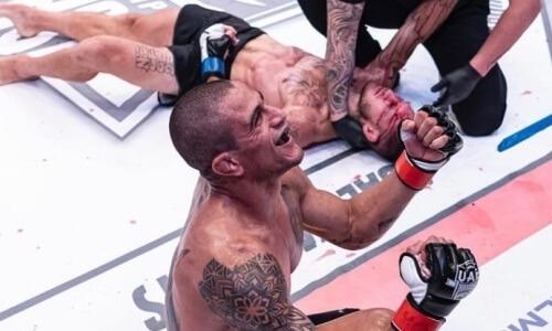 Бразилец «задушил» бывшего бойца UFC и стал новым чемпионом. Видео