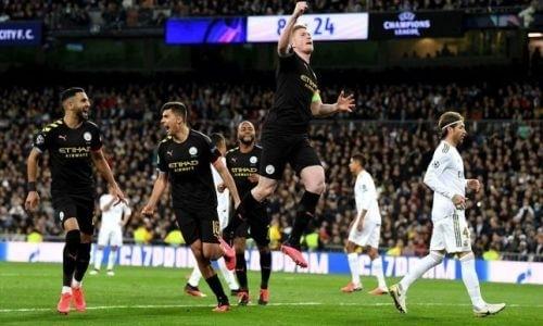 Где смотреть трансляцию матча плей-офф Лиги Чемпионов «Манчестер Сити» — «Реал Мадрид»