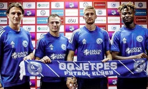 Клуб КПЛ объявил о подписании четырех футболистов. Двое из них легионеры
