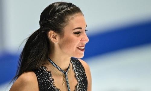 Дочь тренера Турсынбаевой вернулась на лёд после серьёзной травмы. Видео