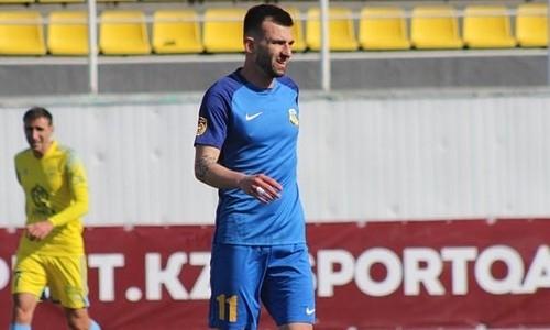 Забивающий в каждом матче КПЛ игрок перешел в состав казахстанского участника еврокубка