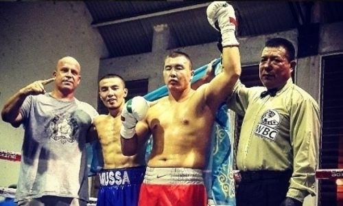 Непобежденный казахстанский тяжеловес анонсировал дату следующего боя