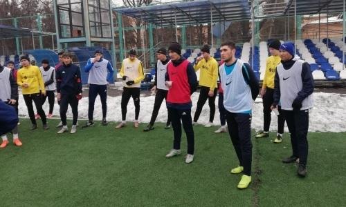 «Арысь» и «Академия Оңтүстік» сыграли вничью в товарищеском матче