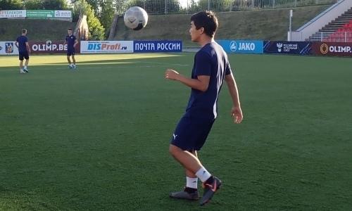19-летний казахстанский футболист дебютирует в старте российского клуба