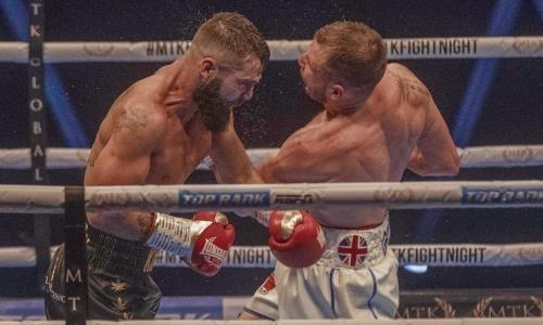 Крутой сенсацией завершился главный бой вечера бокса в Великобритании. Видео