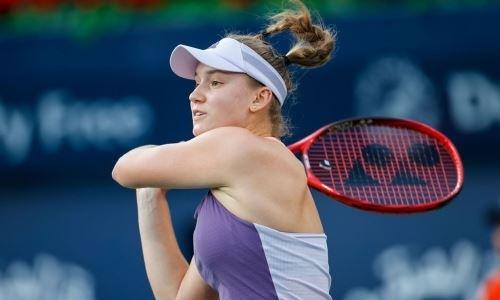 «Она совершенна». Казахстанская теннисистка привела в восторг экс-первую ракетку Британии