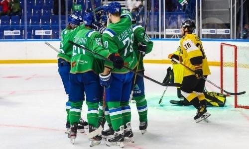 Соперник «Барыса» по конференции КХЛ выиграл турнир, забив победный гол в овертайме с пустыми воротами. Видео