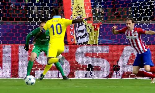 УЕФА опубликовал эпизод с участием экс-лидера «Астаны» в матче с финалистом ЛЧ. Видео