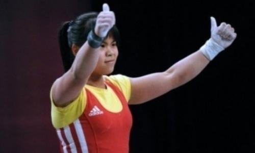 Чиншанло завоевала «серебро» Международного Кубка по тяжелой атлетике