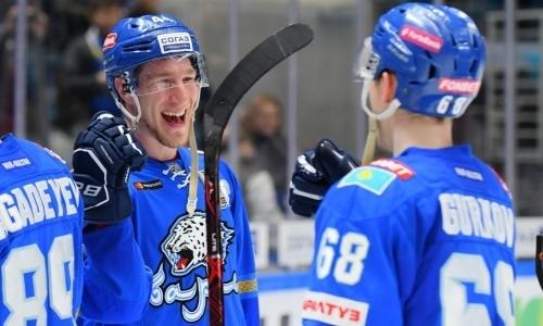 Зачетный старт. «Барыс» забросил трижды за период и выиграл первый матч сезона КХЛ