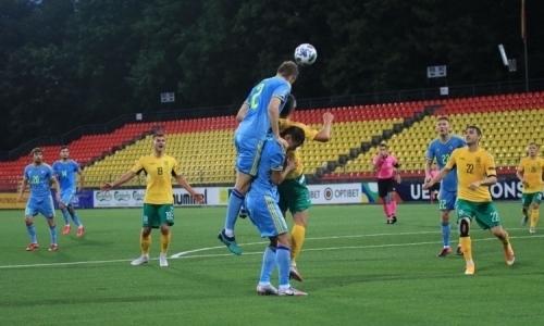 Назван лучший игрок матча Лиги наций Литва — Казахстан