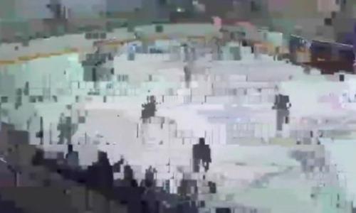 В Петропавловске вместо трансляции матча показали двигающиеся пиксели