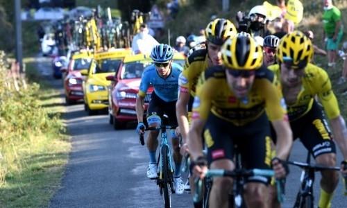 «Сделал все, что мог». Лопес прокомментировал попадание в пятерку на 15-м этапе «Тур де Франс»