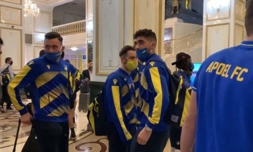 АПОЭЛ прибыл в Казахстан на матч Лиги Европы с «Кайсаром»