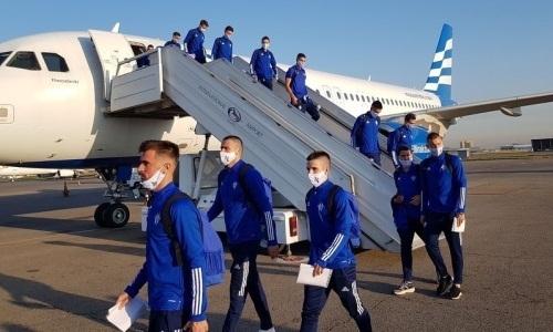 Соперник «Астаны» по Лиге Европы прибыл в Казахстан
