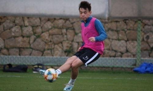 Молодой казахстанский футболист получил приглашение от клуба из России
