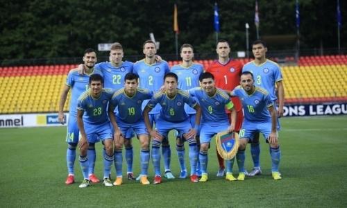 Сборная Казахстана узнала свое место в рейтинге ФИФА после матчей Лиги наций