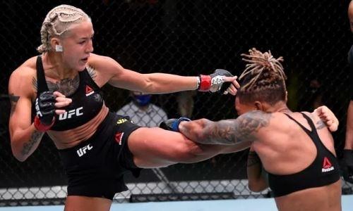 Первая казахстанка в UFC будет прооперирована после поражения нокаутом