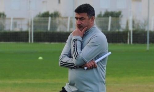 «Должен сказать...» Наставник «Атырау» прокомментировал первую игру команды в новом сезоне
