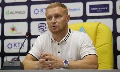 «Наш худший матч за все время». Карпович высказался о ничьей с «Каспием» и судействе