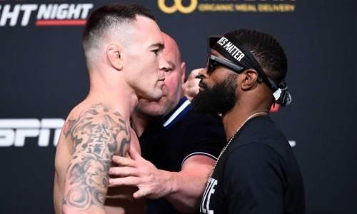 Прямая трансляция турнира UFC Fight Night 178 с главным боем Ковингтон — Вудли