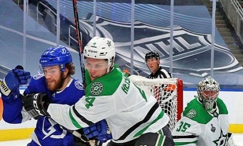 Уроженец Казахстана помог клубу НХЛ выиграть первый матч финала Кубка Стэнли. Видео