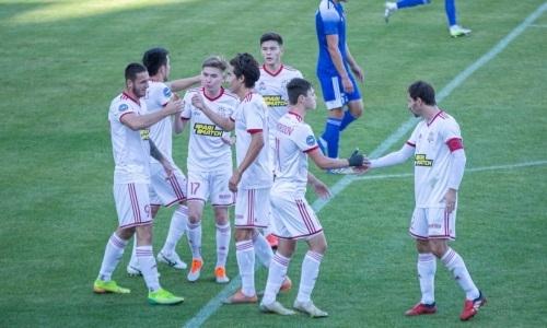 Матч «Актобе» в Первой лиге завершился разгромом со счетом 5:0