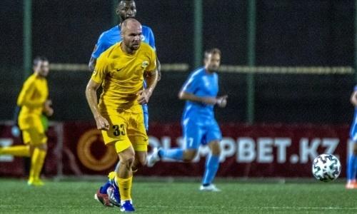 34-летний защитник стал уже пятым капитаном «Каспия» в сезоне КПЛ