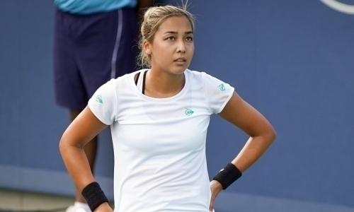 Дияс удачно стартовала на турнире WTA во Франции