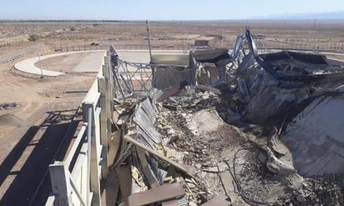 Строящийся спортивный объект рухнул в селе Алматинской области