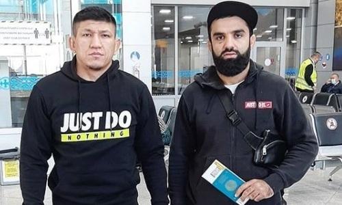 Куат Хамитов прилетел на следующий бой в Москву
