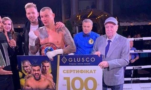 Супертяж за победу в чемпионате Украины получил 100 литров бензина