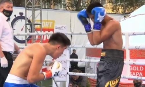 Казахстанцы зарубились в четвертьфинале отбора за титулы WBC и WBO