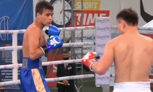 Казахстанец без проблем разобрался с дебютантом в отборе турнира MTK Kazakhstan