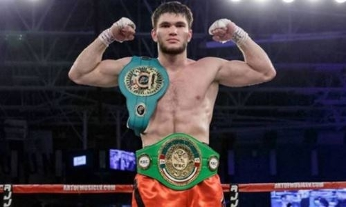 Непобежденный казахстанский боксер из GGG Promotions поделился новым фото из зала
